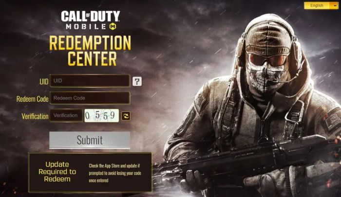 How to Redeem Call of Duty Mobile Codes