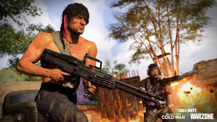 How to get Rambo and John McClane in Warzone