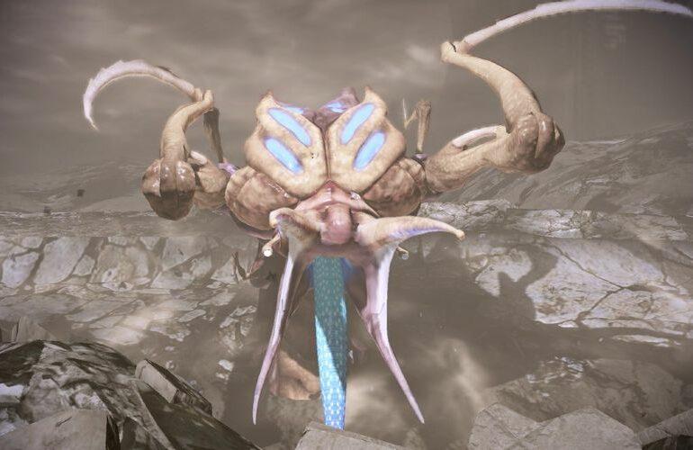 Mass Effect 2 Thresher Maw