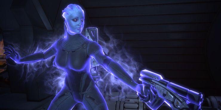 Mass Effect Liara Biotics