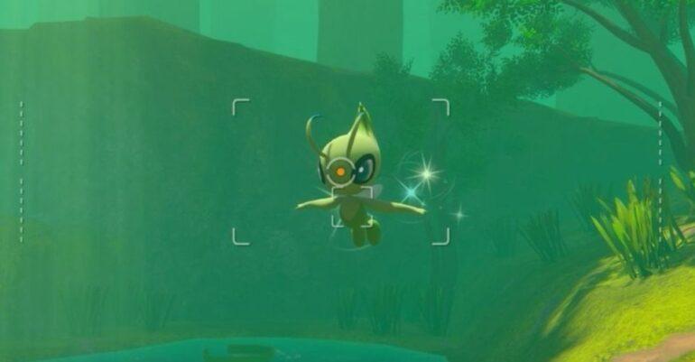 New Pokemon Snap Celebi.jpeg