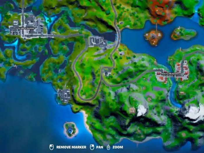 Orelia Location Fortnite