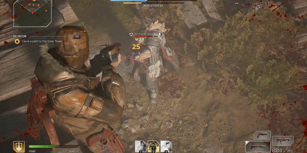 Outriders Defeat Vanguard Captain