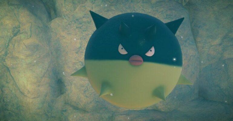 Pokemon Snap Qwilfish