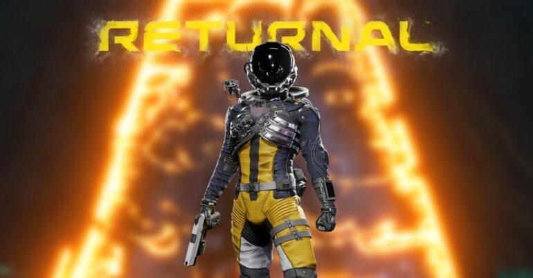 Returnal Yellow Barrier Feature Title