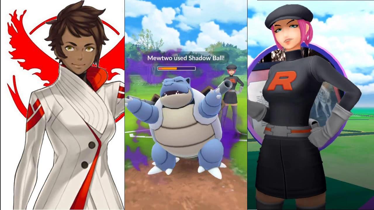 Rocket Grunts in Pokemon GO