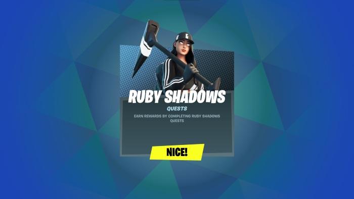 Ruby Shadows Quest 1