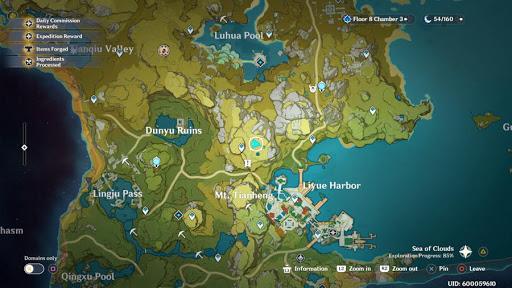Sanbearer Woods all Locations in Genshin Impact
