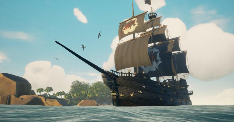 Sea of Thieves anchor Ship
