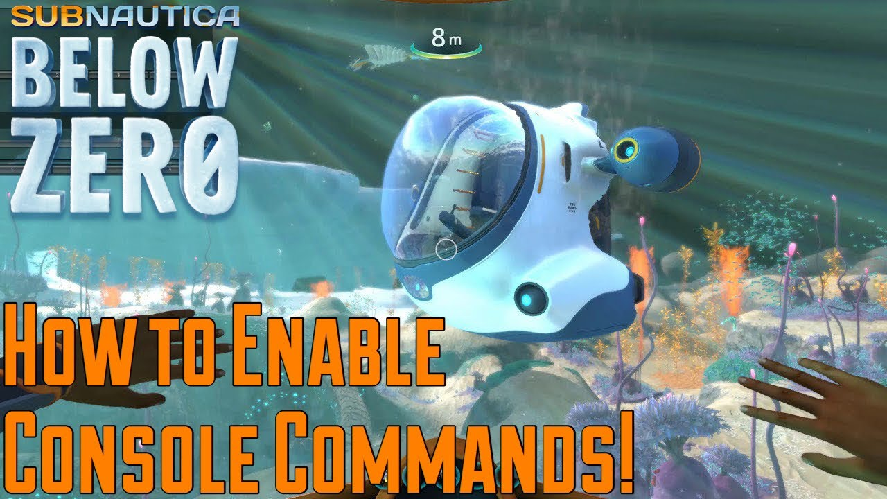 Subnautica Below Zero Console commands