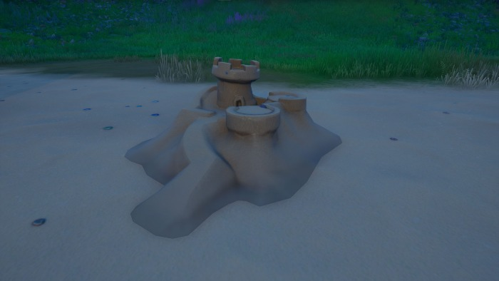 Where to destroy special sandcastles in Fortnite Chapter 2 Season 6 1