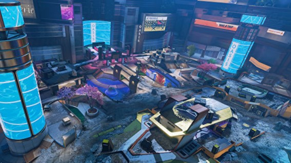 apex legends arena mode party crashers map