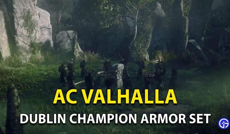 Assassins Creed Valhalla-dublin-champion-armor-set