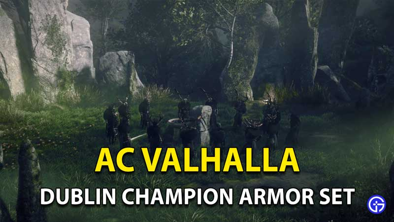 Assassins Creed Valhalla-dublin-champion-armor-set