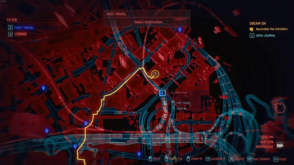Cyberpunk 2077 Dream On Quest