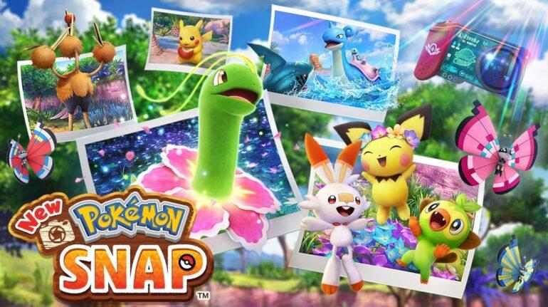 new pokemon Snap map pokemon