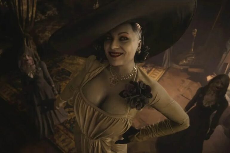 Resident Village Evil Lady Dimitrescu Boss