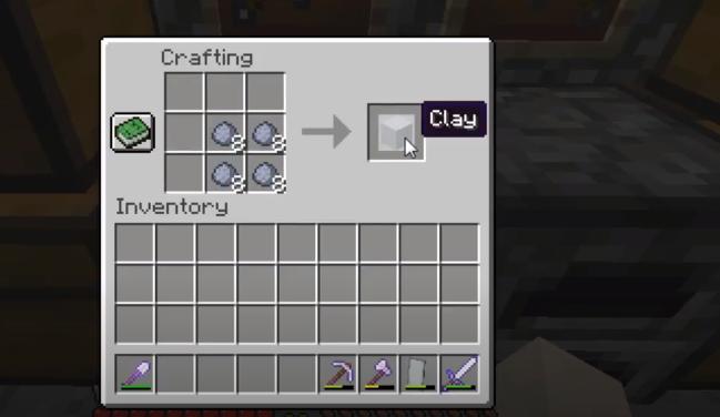 Minecraft make Terracotta