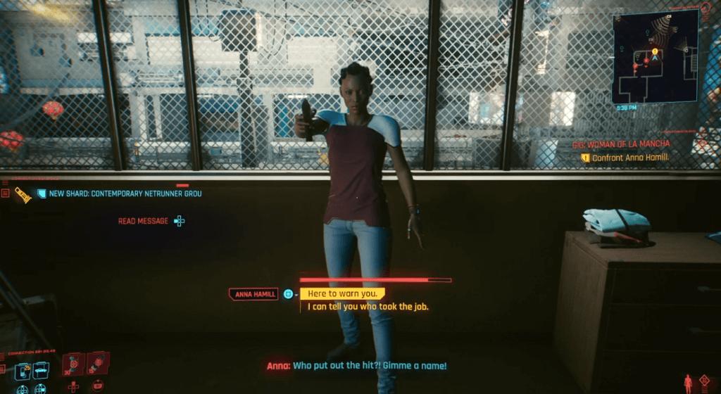 Cyberpunk 2077 Women of La Macha Quest