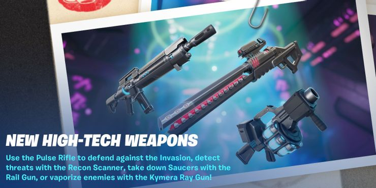 Fortnite High Tech Weapons Cropped