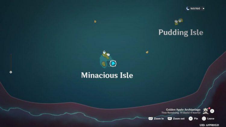 Genshin Impact Minacious Isle Locked Chest