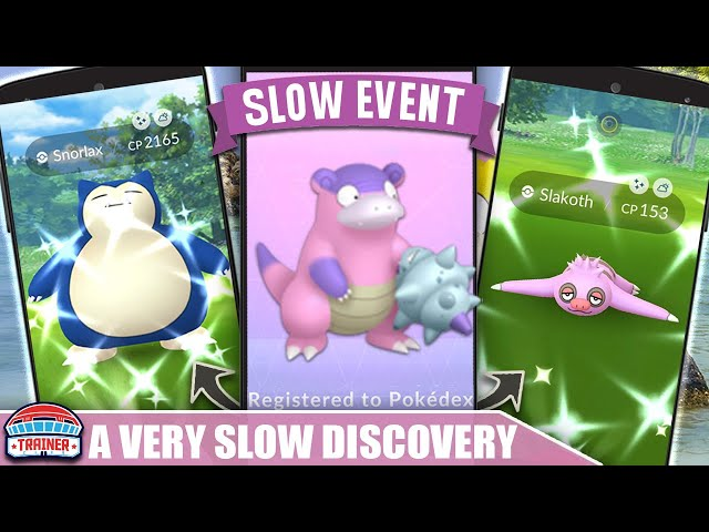 Pokemon GO Easy Guide to a Very Slow Discovery Event