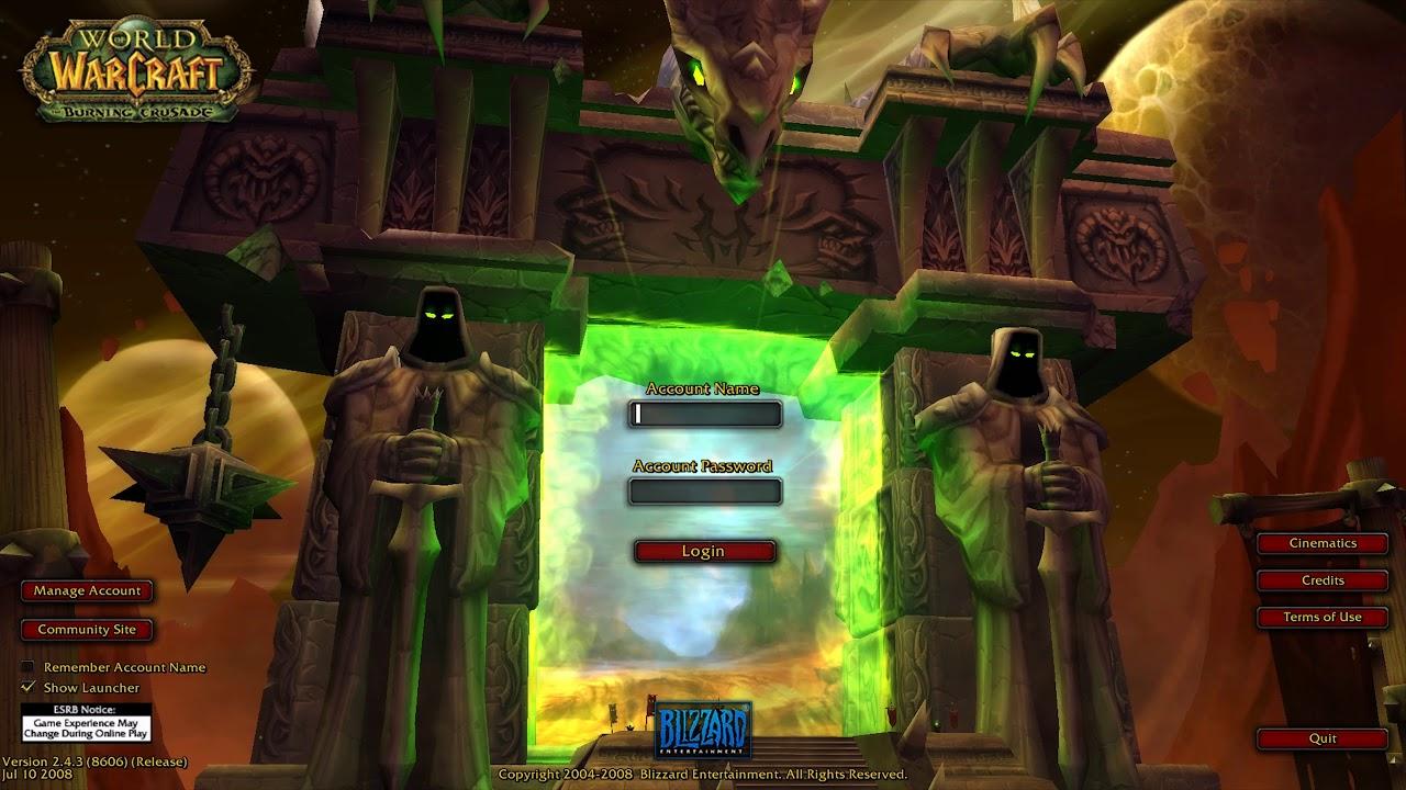 World of Warcraft Burning Crusade Classic Release Updates