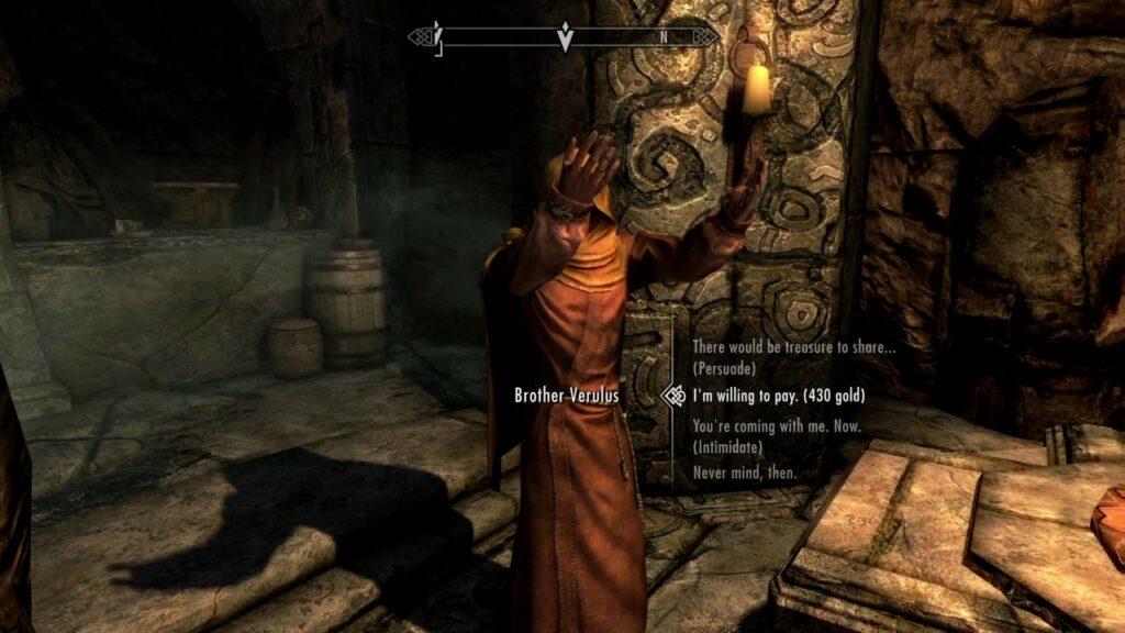 Skyrim Taste of Death Quest