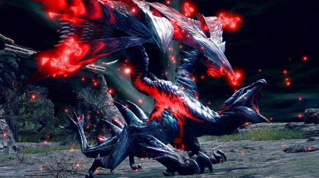 Monster Hunter Rise Crimson Glow Valstrax